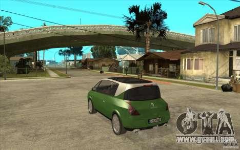 Renault Avantime for GTA San Andreas back left view