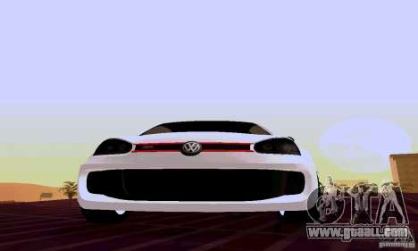 Volkswagen Golf 5 GTI W12 for GTA San Andreas back view