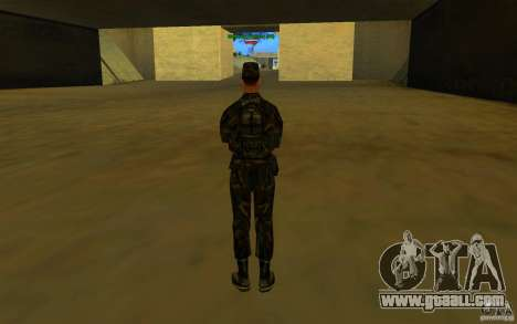 HQ skin Army for GTA San Andreas fifth screenshot