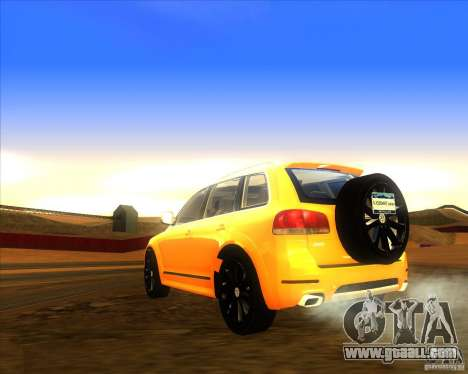 Volkswagen Touareg R50 for GTA San Andreas left view