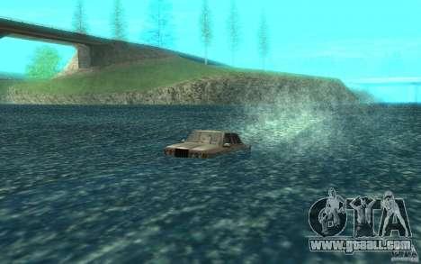 Admiral Boat for GTA San Andreas