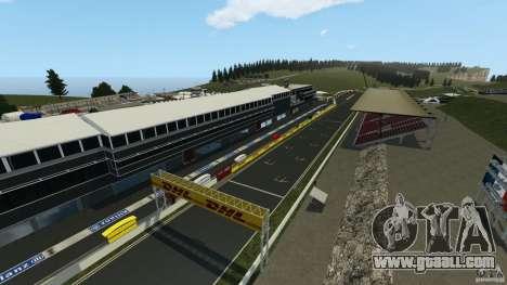 SPA Francorchamps [Beta] for GTA 4 second screenshot