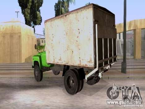 GAZ 53 for GTA San Andreas back left view