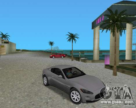Maserati  GranTurismo for GTA Vice City