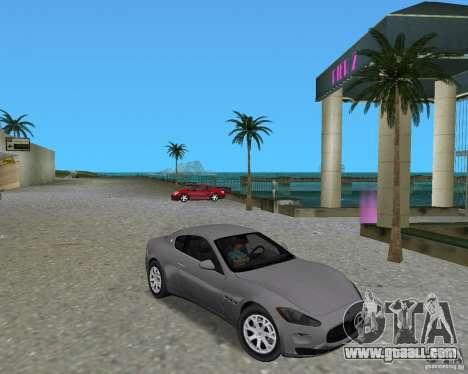 Maserati  GranTurismo for GTA Vice City