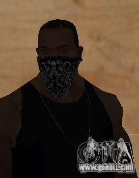 New Bandanas Style for GTA San Andreas fifth screenshot
