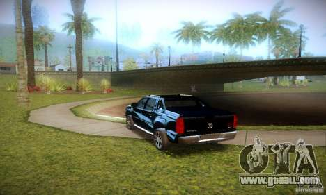 Cadillac Escalade Ext for GTA San Andreas back view