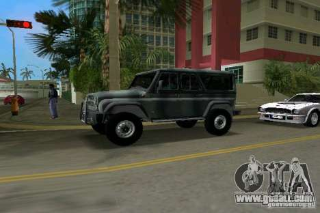 UAZ-3153 for GTA Vice City back left view
