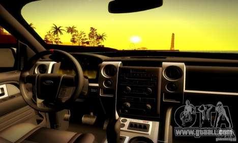 Ford F-150 SVT Raptor V1.0 for GTA San Andreas side view