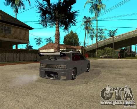 VAZ 2115 MCC for GTA San Andreas back left view