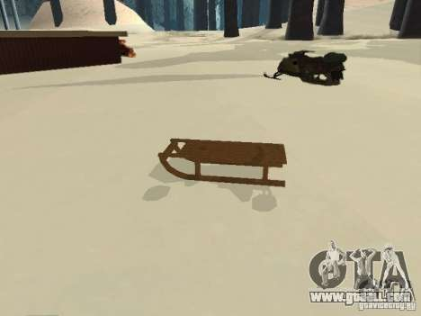 Sledge v1 for GTA San Andreas left view