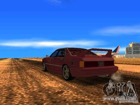 Sentrel Mini Tuning for GTA San Andreas left view