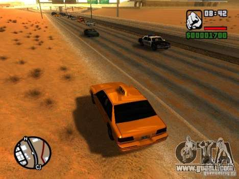 Sand storm for GTA San Andreas third screenshot