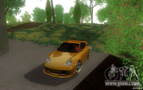 Ruf R-Turbo for GTA San Andreas left view