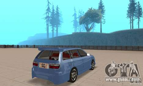 Toyota Carina 1996 for GTA San Andreas left view