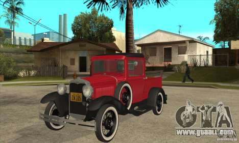 Ford Model A Pickup 1930 for GTA San Andreas