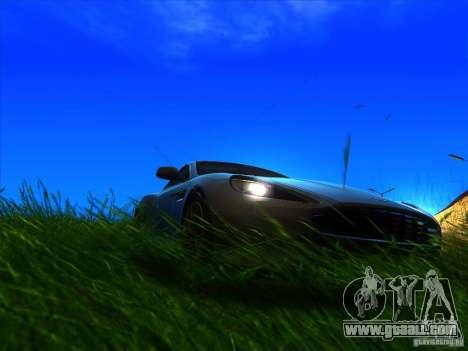 Aston Martin Virage 2011 Final for GTA San Andreas right view