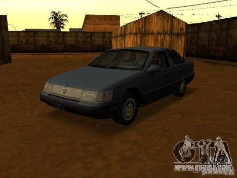 Mercury Sable GS 1989 for GTA San Andreas