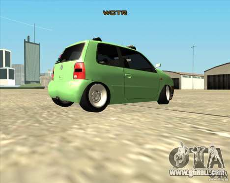 Volkswagen Lupo Hellaflush for GTA San Andreas right view