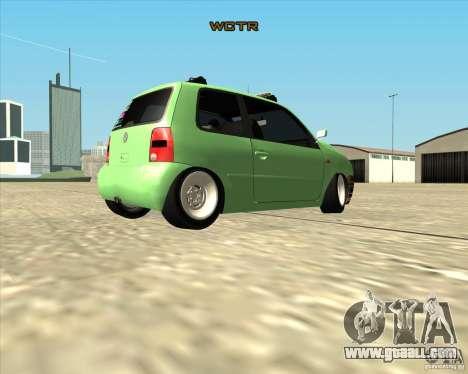 Volkswagen Lupo Hellaflush for GTA San Andreas right view