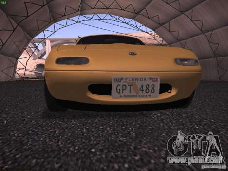 Mazda MX-5 1997 for GTA San Andreas back view
