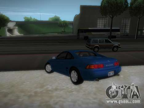 Toyota MR2 GT for GTA San Andreas back left view