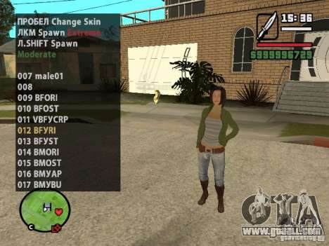 GTA IV peds to SA pack 100 peds for GTA San Andreas