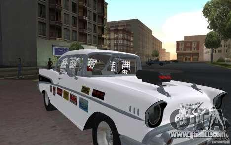 Chevrolet BelAir Bloodring Banger 1957 for GTA San Andreas left view