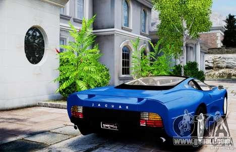 Jaguar XJ 220 for GTA 4 back left view