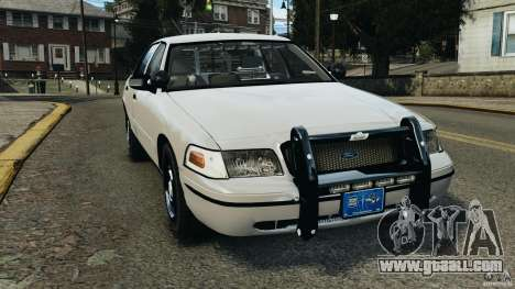 Ford Crown Victoria Police Unit [ELS] for GTA 4