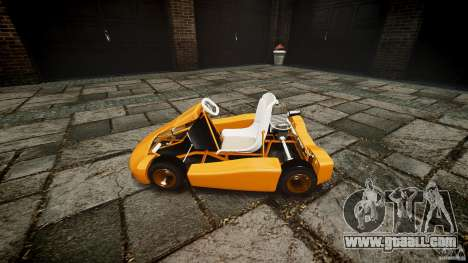 Karting for GTA 4 back view