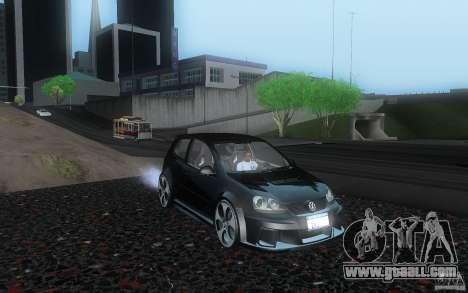 VolksWagen Golf GTI W12 TT Black Revel for GTA San Andreas