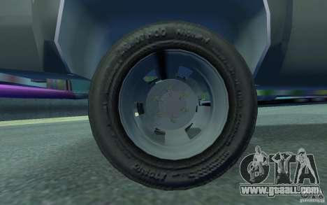 Chevrolet Silverado for GTA 4 inner view