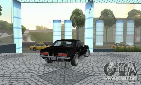 Chevrolet Camaro RSSS 1967 for GTA San Andreas left view