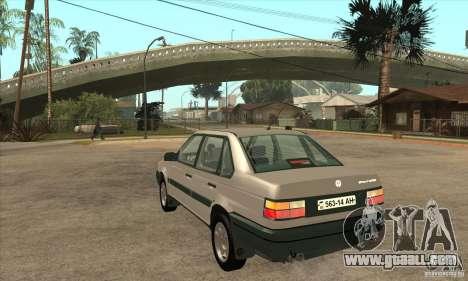 Volkswagen Passat B3 for GTA San Andreas back left view