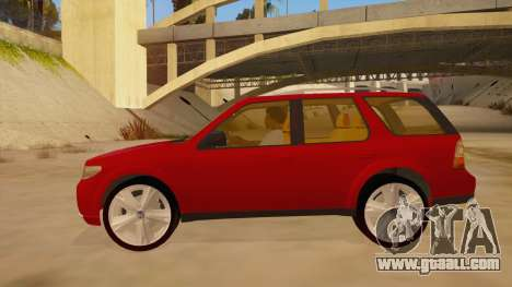 Saab 9-7X for GTA San Andreas left view