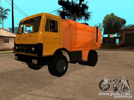 MAZ 54323 GARBAGE TRUCK for GTA San Andreas