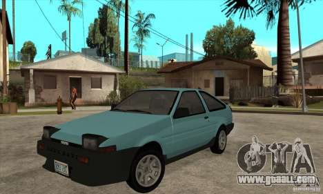 Toyota Corolla GT-S - Stock for GTA San Andreas