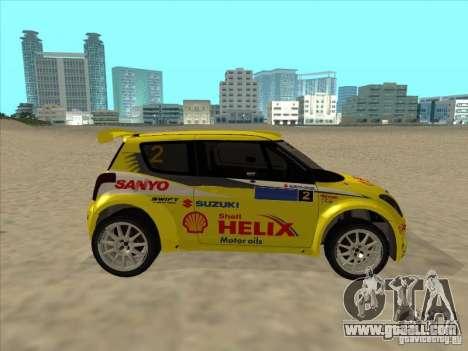 Suzuki Rally Car for GTA San Andreas right view