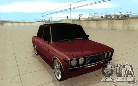 Vaz 2106 Lada for GTA San Andreas back view