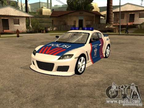 Mazda RX-8 Police for GTA San Andreas