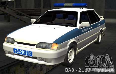 VAZ 2115 PPP Police for GTA San Andreas
