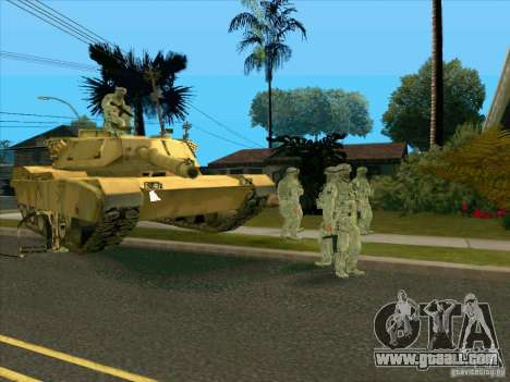 Electronic camouflage Morpeh for GTA San Andreas third screenshot