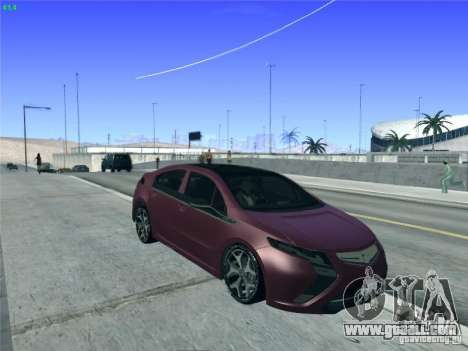 Opel Ampera 2012 for GTA San Andreas side view