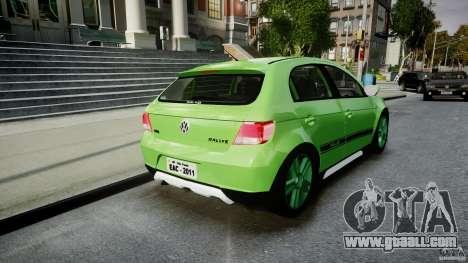 Volkswagen Gol Rallye 2012 v2.0 for GTA 4 side view