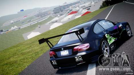 BMW M3 GT2 Drift Style for GTA 4 back left view