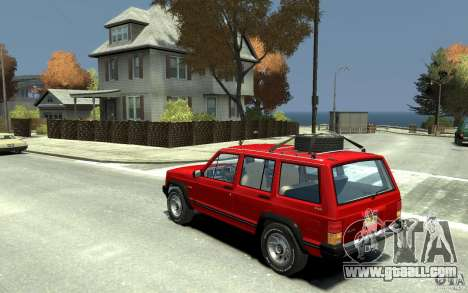 Jeep Cherokee 1984 for GTA 4 back left view