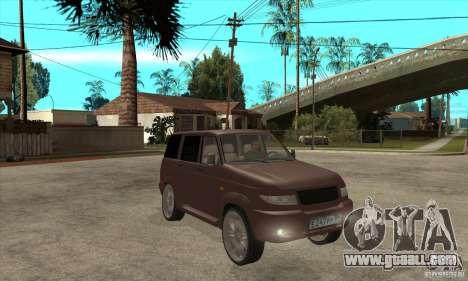 UAZ Patriot for GTA San Andreas inner view