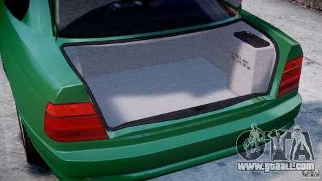 BMW 850i E31 1989-1994 for GTA 4 side view