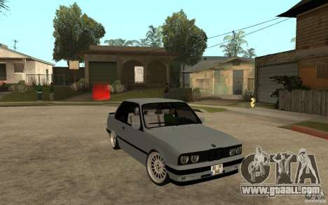 BMW E30 CebeL Tuning for GTA San Andreas back view
